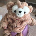 子供用の簡単なダッフィー風着ぐるみの作り方♪【画像解説】